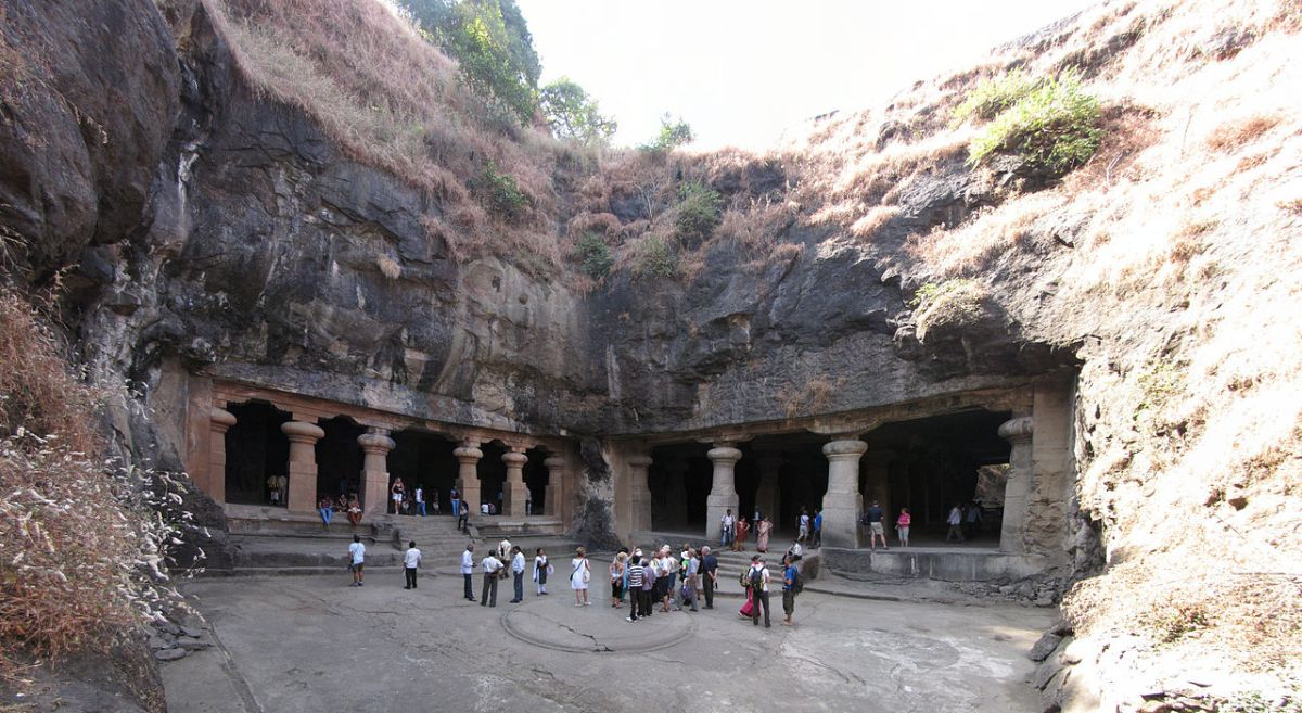 Far from madding crowd—A trip to Elephanta cave.