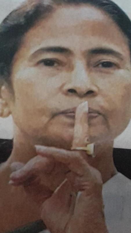 SILENCE, MAMATA SPEAKS